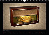 Dampfradios - Antike Radios mit Charme und Patina (Wandkalender 2019 DIN A4 quer) - Produktdetailbild 1