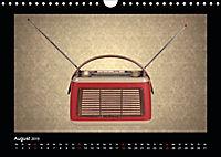 Dampfradios - Antike Radios mit Charme und Patina (Wandkalender 2019 DIN A4 quer) - Produktdetailbild 8