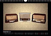 Dampfradios - Antike Radios mit Charme und Patina (Wandkalender 2019 DIN A4 quer) - Produktdetailbild 12