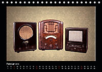 Dampfradios - Antike Radios mit Charme und Patina (Tischkalender 2019 DIN A5 quer) - Produktdetailbild 2