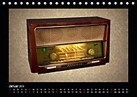 Dampfradios - Antike Radios mit Charme und Patina (Tischkalender 2019 DIN A5 quer) - Produktdetailbild 1