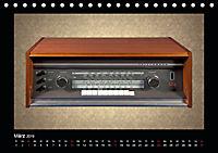 Dampfradios - Antike Radios mit Charme und Patina (Tischkalender 2019 DIN A5 quer) - Produktdetailbild 3