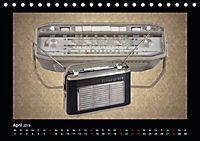 Dampfradios - Antike Radios mit Charme und Patina (Tischkalender 2019 DIN A5 quer) - Produktdetailbild 4