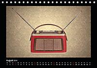 Dampfradios - Antike Radios mit Charme und Patina (Tischkalender 2019 DIN A5 quer) - Produktdetailbild 8