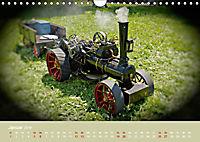 Dampftraktormodelle 1:3 beim Dampfmodellbautreffen in Bisingen (Wandkalender 2019 DIN A4 quer) - Produktdetailbild 1