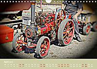 Dampftraktormodelle 1:3 beim Dampfmodellbautreffen in Bisingen (Wandkalender 2019 DIN A4 quer) - Produktdetailbild 4