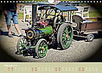 Dampftraktormodelle 1:3 beim Dampfmodellbautreffen in Bisingen (Wandkalender 2019 DIN A4 quer) - Produktdetailbild 2