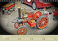 Dampftraktormodelle 1:3 beim Dampfmodellbautreffen in Bisingen (Wandkalender 2019 DIN A4 quer) - Produktdetailbild 8