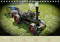 Dampftraktormodelle 1:3 beim Dampfmodellbautreffen in Bisingen (Tischkalender 2019 DIN A5 quer) - Produktdetailbild 1