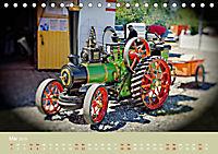 Dampftraktormodelle 1:3 beim Dampfmodellbautreffen in Bisingen (Tischkalender 2019 DIN A5 quer) - Produktdetailbild 5