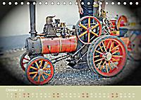 Dampftraktormodelle 1:3 beim Dampfmodellbautreffen in Bisingen (Tischkalender 2019 DIN A5 quer) - Produktdetailbild 10