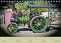 Dampftraktormodelle 1:3 beim Dampfmodellbautreffen in Bisingen (Tischkalender 2019 DIN A5 quer) - Produktdetailbild 6