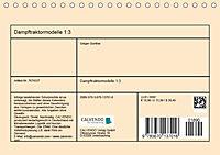 Dampftraktormodelle 1:3 beim Dampfmodellbautreffen in Bisingen (Tischkalender 2019 DIN A5 quer) - Produktdetailbild 13