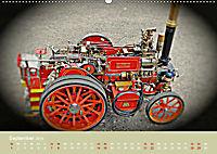 Dampftraktormodelle 1:3 beim Dampfmodellbautreffen in Bisingen (Wandkalender 2019 DIN A2 quer) - Produktdetailbild 9
