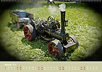 Dampftraktormodelle 1:3 beim Dampfmodellbautreffen in Bisingen (Wandkalender 2019 DIN A2 quer) - Produktdetailbild 1