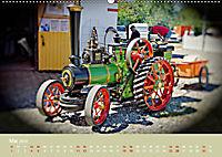 Dampftraktormodelle 1:3 beim Dampfmodellbautreffen in Bisingen (Wandkalender 2019 DIN A2 quer) - Produktdetailbild 5