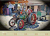 Dampftraktormodelle 1:3 beim Dampfmodellbautreffen in Bisingen (Wandkalender 2019 DIN A2 quer) - Produktdetailbild 3