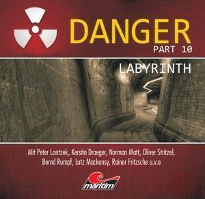 Danger - Labyrinth, 1 Audio-CD, Danger