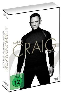 Daniel Craig Collection incl. Spectre, Paul Haggis, Neal Purvis, Ian Fleming, Robert Wade, John Logan, Patrick Marber, Jez Butterworth