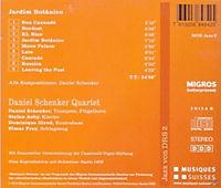 Daniel Schenker Quartet: Jardim Botanico - Produktdetailbild 1