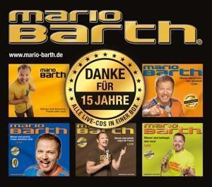 Danke für 15 Jahre: Die Box, 6 Audio-CDs, Mario Barth