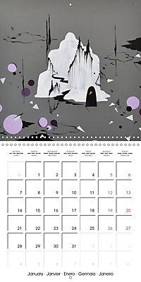 Daphne's Art 2019 (Wall Calendar 2019 300 × 300 mm Square) - Produktdetailbild 1