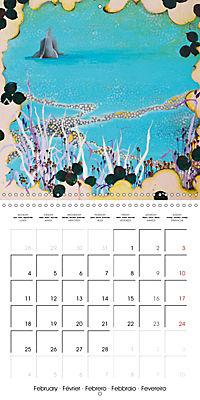 Daphne's Art 2019 (Wall Calendar 2019 300 × 300 mm Square) - Produktdetailbild 2