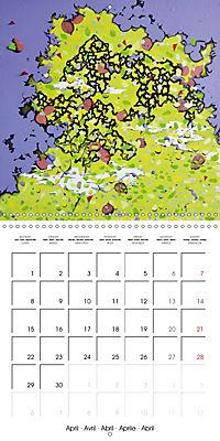Daphne's Art 2019 (Wall Calendar 2019 300 × 300 mm Square) - Produktdetailbild 4