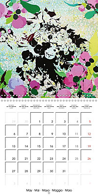 Daphne's Art 2019 (Wall Calendar 2019 300 × 300 mm Square) - Produktdetailbild 5