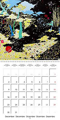 Daphne's Art 2019 (Wall Calendar 2019 300 × 300 mm Square) - Produktdetailbild 12