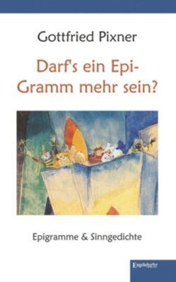 Darf's ein Epi-Gramm mehr sein?, Gottfried Pixner