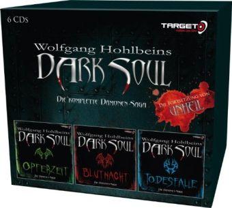 Dark Soul, Die Dämonen-Saga in einer Box, 6 Audio-CDs, Wolfgang Hohlbein, Dieter Winkler