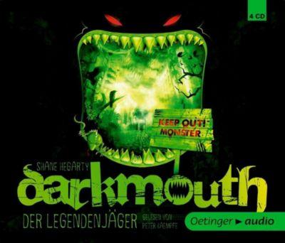 Darkmouth - Der Legendenjäger, 4 Audio-CDs, Shane Hegarty