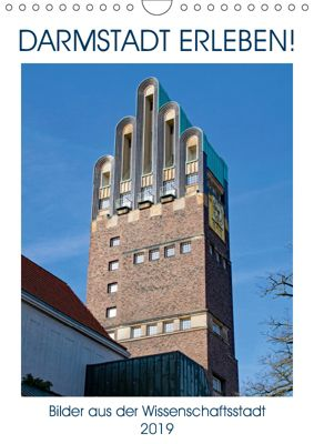 Darmstadt erleben! (Wandkalender 2019 DIN A4 hoch), Christian Werner