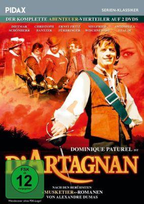 D'Artagnan - Der komplette Abenteuer-Vierteiler - 2 Disc DVD, Claude Barma