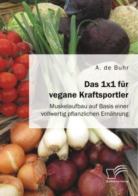 Das 1x1 für vegane Kraftsportler. Muskelaufbau auf Basis einer vollwertig pflanzlichen Ernährung - Aike Phillip de Buhr |