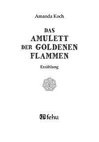 Das Amulett der goldenen Flammen - Produktdetailbild 1