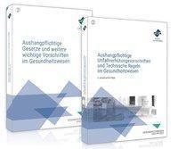 Das Aushangpflichten-Paket für das Gesundheitswesen - Aushangpflichtige Gesetze + Unfallverhütungsvorschriften, 2 Teile - Forum Verlag Herkert GmbH  
