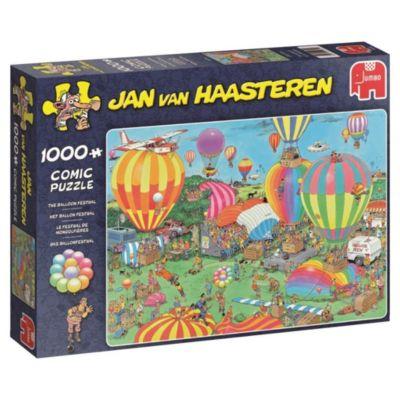 Das Ballonfestival (Puzzle), Jan Van Haasteren