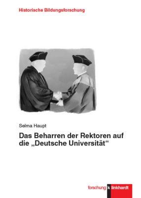 """Das Beharren der Rektoren auf die """"Deutsche Universität"""", Selma Haupt"""