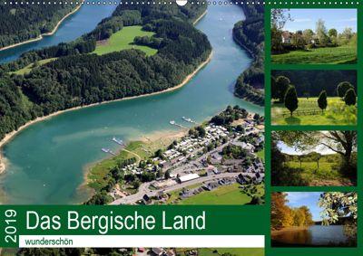 Das Bergische Land - wunderschön (Wandkalender 2019 DIN A2 quer), Helmut Harhaus