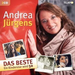 Das Beste - Ein Kinderstar wird 50 (2 CDs), Andrea Jürgens