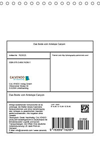 Das Beste vom Antelope Canyon (Tischkalender 2019 DIN A5 hoch) - Produktdetailbild 13