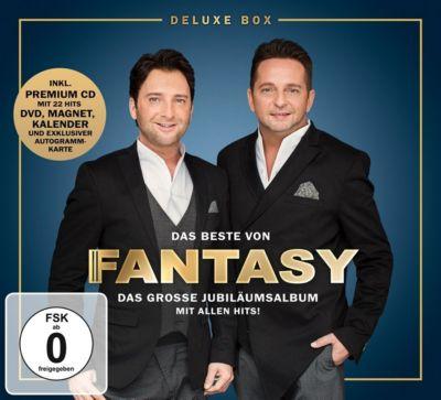 Das Beste von Fantasy - Das grosse Jubiläumsalbum mit allen Hits! (Deluxe Box, 2 CDs + DVD), Fantasy