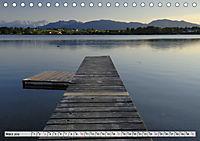 Das Blaue Land - Himmel, Seen und Berge im bayerischen Voralpenland (Tischkalender 2019 DIN A5 quer) - Produktdetailbild 3