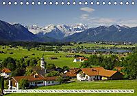 Das Blaue Land - Himmel, Seen und Berge im bayerischen Voralpenland (Tischkalender 2019 DIN A5 quer) - Produktdetailbild 2