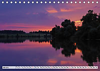 Das Blaue Land - Himmel, Seen und Berge im bayerischen Voralpenland (Tischkalender 2019 DIN A5 quer) - Produktdetailbild 7