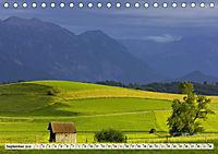 Das Blaue Land - Himmel, Seen und Berge im bayerischen Voralpenland (Tischkalender 2019 DIN A5 quer) - Produktdetailbild 9
