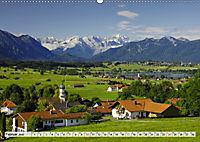 Das Blaue Land - Himmel, Seen und Berge im bayerischen Voralpenland (Wandkalender 2019 DIN A2 quer) - Produktdetailbild 2