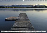 Das Blaue Land - Himmel, Seen und Berge im bayerischen Voralpenland (Wandkalender 2019 DIN A2 quer) - Produktdetailbild 3